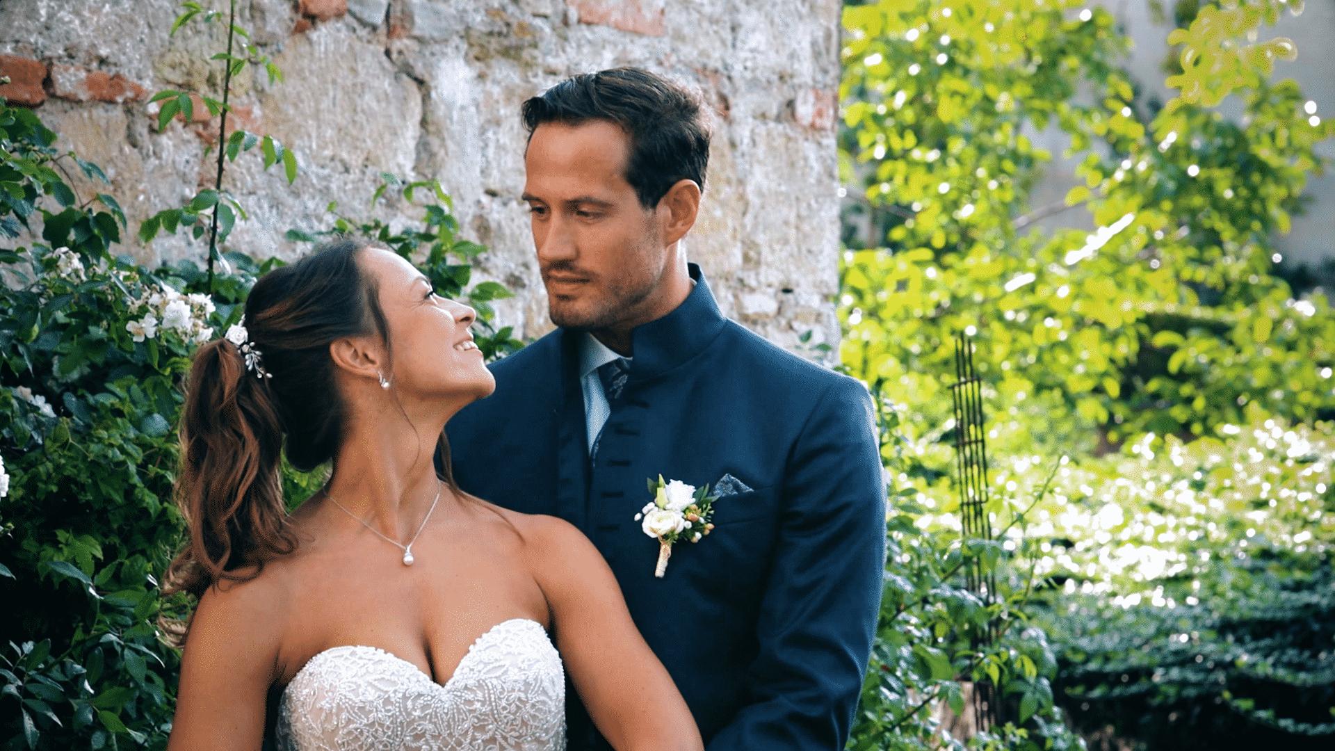 Anzeigebild für Hochzeitsvideo von romantischem Brautpaar aus Wien